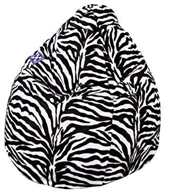 Produktbild Von Sitting Point Zebra Sitzsack Bean Bag In XXL Format