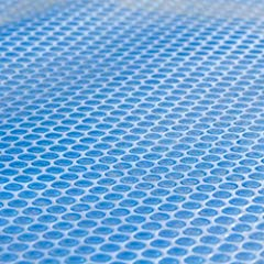 Blaue Pool Solarfolie Bild