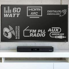 TV-Soundstand - Heimkinoanlage Soundbar Bild