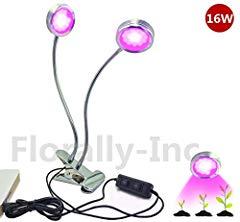 Doppelkopf LED Pflanzenlampe Bild