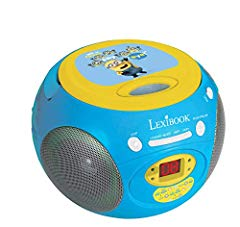 Minions CD-Player mit Radio Boombox Bild