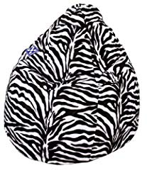 Sitting Point Zebra Sitzsack Bean Bag in XXL- Format Bild