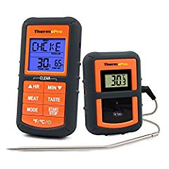 ThermoPro TP07 Barbecue Thermometer Funk Bild